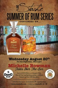 Don Q rum event at Bar Stache