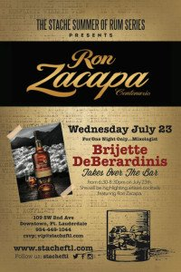 Ron Zacapa event at Bar Stache