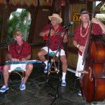 The Smokin' Menehunes perform during happy hour in The Molokai bar at The Mai-Kai on Saturday.