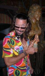 Tiki artist Crazy Al Evans