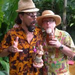 "In the waning hours of The Hukilau on Sunday, artist Crazy Al Evans and author Jeff ""Beachbum"" Berry get one last chance to savor The Mai-Kai, its cocktails and its tropical garden."