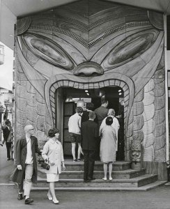 A Tiki site at the 1962 Seattle World's Fair