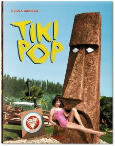 The book's cover is a colorized version of a vintage photo from Tiki Gardens on Florida's Gulf Coast