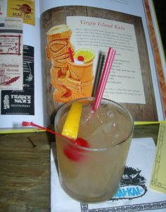 The Virgin Island Kula by Ray Buhen of the Tiki-Ti in Los Angeles was served at The Mai-Kai on Sept. 20, 2014