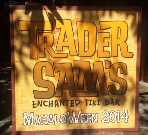 The first Mahaloween Luau was held at Trader Sam's Enchanted Tiki Bar at the Disneyland Hotel on Monday, Sept. 29, 2014