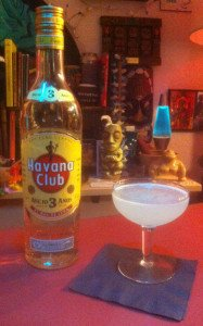 A classic Daiquiri. (Photo by Hurricane Hayward, December 2014)