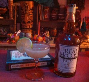 La Floridita Daiquiri featuring The Real McCoy 5 rum