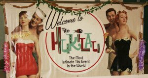 A welcome banner at The Hukilau 2014