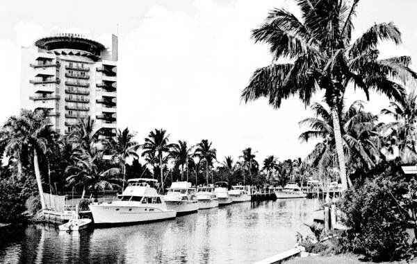 A vintage photo of the Pier 66 hotel in Fort Lauderdale, site of The Hukilau in June 2018