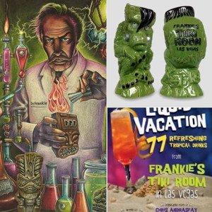 Frankie's Tiki Room merchandise