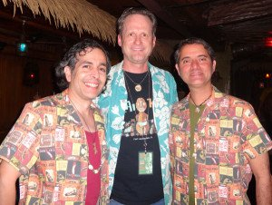 Eric October (left) made his first visit to The Hukilau in Fort Lauderdale with partner Manuel (right) in June 2014.