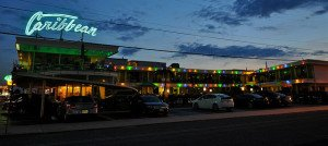 The Caribbean is a restored authentic 1957 motel in Wildwood, N.J.