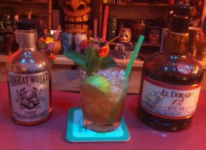 An El Dorado Mai Tai featuring El Dorado 12 rum and T'orgeat Toasted Orgeat