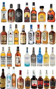 Some of the many rums coming in 2015 to Miami Rum Renaissance Festival