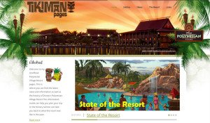 Tikiman's Polynesian Village Resort Pages