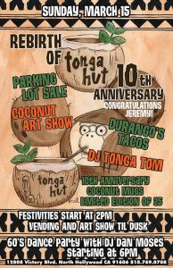 Tonga Hut 10th anniversary party