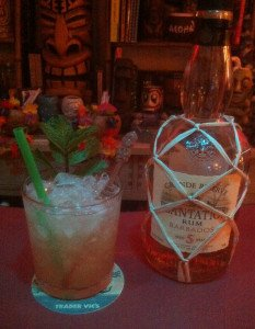 A Mai Tai featuring Plantation Barbados 5-year-old Grande Reserve