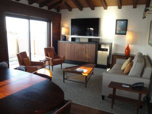 The new Bora Bora Bungalows at Disney's Polynesian Village Resort are furnished in mid-century modern style