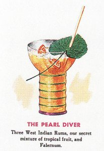 From a mid-century Don the Beachcomber menu