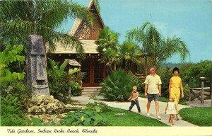 A vintage Tiki Gardens postcard