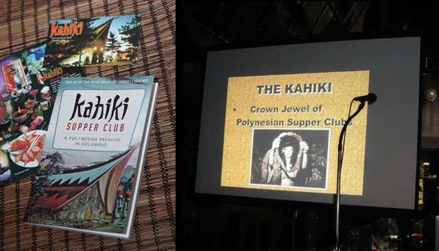 The final day started early with author Jeff Chenault's symposium on The Kahiki, the grand South Seas supper club in Columbus, Ohio, that rivaled The Mai-Kai in its spectacular design and decor during its 40-year run that ended in 2000. (Photos by The Tanabi Group and The Atomic Grog)