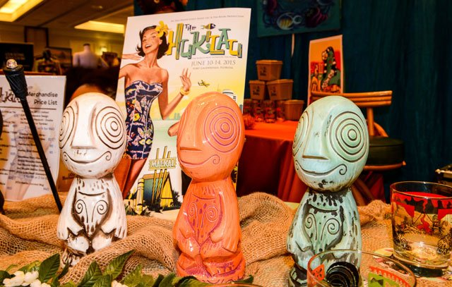 The Hukilau's official mug by Tiki Diablo includes a special LED torch light. (Photo by Go11Events.com)