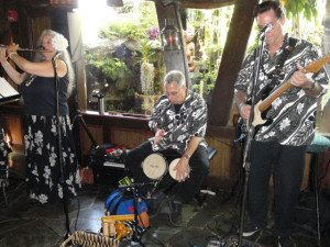 South Florida's The Quiet Villagers perform in The Molokai bar at The Mai-Kai during The Hukilau 2015. (Photo by Hurricane Hayward)