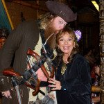 Special guest Dawn Wells (Gilligan's Island) is captured by Jim Stacy (Offbeat Eats With Jim Stacy) at The Hukilau 2015. (Photo by Go11Events.com)