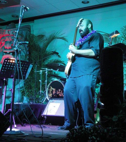 Alika Lyman was born in Hawaii and has an active music career on the islands. (Atomic Grog photo)