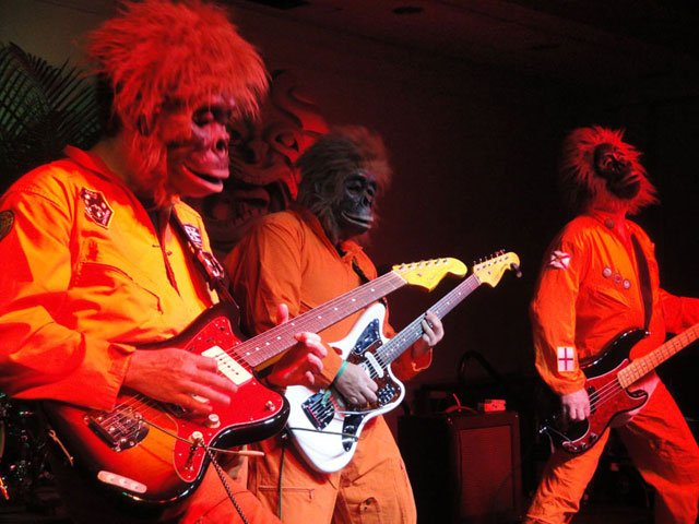 It's an instrumental surf rock onslaught from The Disasternauts. (Atomic Grog photo)