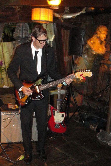 Skinny Jimmy Stingray and his band play classic surf tunes plus choice originals. (Atomic Grog photo)