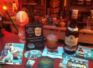 1862 Rhum Punch and Rhum Barbancourt 5 Star were both featured at The Hukilau 2015. (Photo by Hurricane Hayward, June 2015)