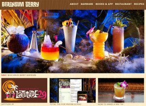 Beachbum Berry's new website