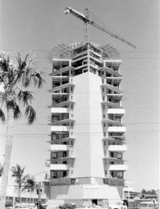 The Pier 66 tower was built in 1964-65 for nearly $6 million. It remains the dominant structure on the south end of Fort Lauderdale Beach