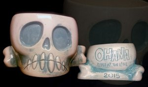 Squid's mug for the Ohana: Luau At The Lake event
