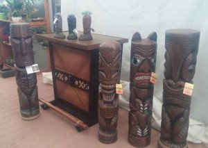 Tiki Diablo's signature products for Home Depot