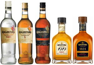 Angostura rums include white, gold and aged varieties
