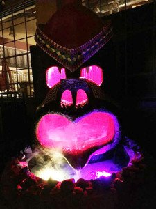 The famous monkey fountain from The Kahiki, a legendary Polynesian restaurant in Columbus, finds a new home at the Grass Skirt Tiki Room