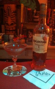 The Morning After featuring Angostura 5 rum. (Photo by Hurricane Hayward, August 2015)