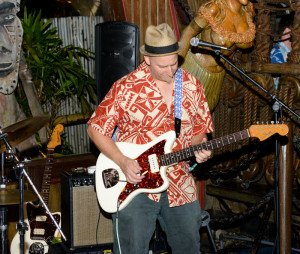 Russell Mofsky and Gold Dust Lounge perform at The Hukilau in June 2015 at The Mai-Kai. (Photo by Go11Events.com)