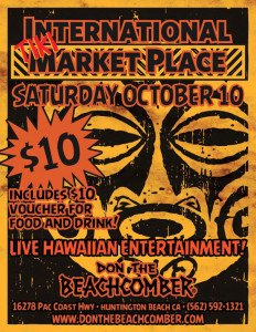Don the Beachcomber's International Tiki Market Place