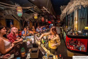 The Golden Tiki is a Disney-meets-Vegas bar and club featuring vintage cocktails and decor from some of the Tiki art scene's biggest names. (Official photo)