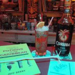 Planter's Punch featuring Coruba Original dark Jamaican rum