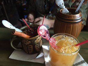 Happy hour in the The Molokai bar at The Mai-Kai on Friday, Oct. 2. (Ohana by the Sea Facebook photo)