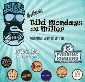 Tiki Mondays with Miller: Autumnal Equinox Edition