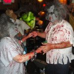 A zombie couple enjoys a last dance. (Atomic Grog photo)