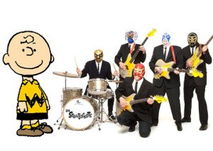 Los Straitjackets play the Peanuts theme