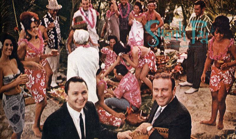 Original Mai-Kai owners Jack (left) and Bob Thornton. (Courtesy of The Swank Pad)
