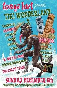 Tiki Wonderland X at Tonga Hut