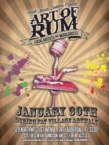 Art of Rum at FAT Village Artwalk